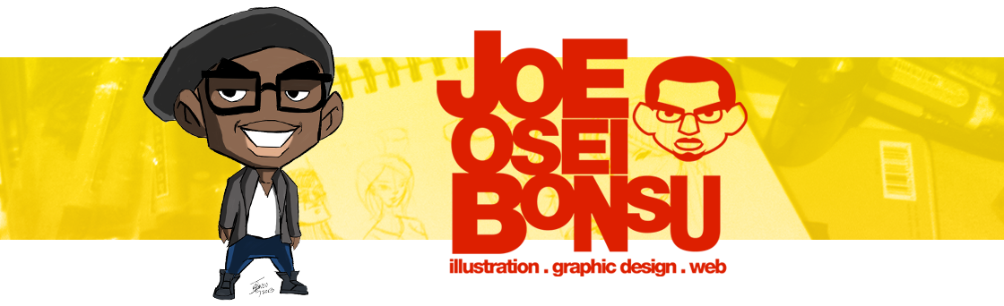 Joe Osei Bonsu – Illustration/Graphic Design/Web